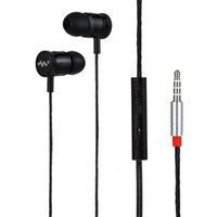HONGBIAO SM Wired 3. 5mm Jack Metal Earplugs Earphone In Ear ...