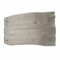 Extensiones humanas de la Virgen brasileña del gris de plata Cinta adhesiva del pelo 300g de la cinta para las extensiones del pelo Extensiones gruesas inconsútiles de la cinta de la trama de la piel 120pc