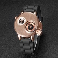 Novos homens assistir 2018 Novo V6 Super Velocidade Silicone Quartz 3D superfície Masculina Hour Clock Analógico Militar Big Dial Sport Man Watch