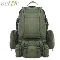 Outlife 50L Outdoor Backpack Multifunction Sports Bag Molle ...