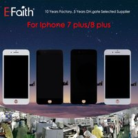 Wholesale- For iPhone 7 Plus iPhone 8 Plus Grade A + + + White ...