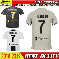18 19 Juventus Soccer Jersey home away 3rd goalkeeper 7 RONA...