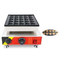 BEIJAMEI Kalp Snack Hollandalı Poffertjes Maker Kalp Şeklinde Parti Gözleme Grill Waffle Makinesi 25 delik Kalp Kek Makinesi