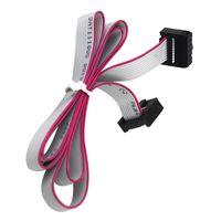 60cm 12,864 LCD 2004 LCD 연장 케이블 MKS Prusa 경사로 RepRap ANET I3 FT5 3D 10pin 플랫 날짜 케이블 와이어 리드