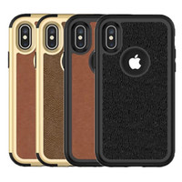 For Iphone XS XR XS Max Case 3in1 Leather Case Soft TPU Hard...
