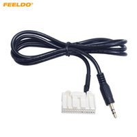 FEELDO 28PIN Автомобильный AUX IN Аудио кабель 3,5 мм CD-плеер Кабель-адаптер для Toyota Camry / Corolla / Reiz / RAV4 / Highlander # 1740