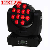 LED LED 12x12W Lave la cabeza móvil LED Luz de escenario 12x12W RGBW 4IN1 BEAM LED Cabeza móvil Lámpara, China Cabezas en movimiento