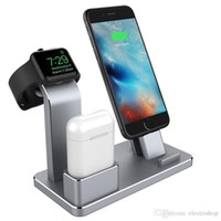 TOP vender estação de doca de carregamento portátil night stand carregador titular apple watch / airpods / iphone stand