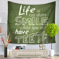 6 Style Creative Tapestry Letter Printing Carpet Beach Towel...