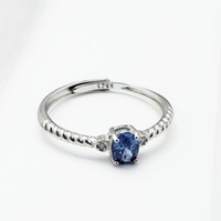 anelli gioielli per le donne S925 argento rubino colorato impostazione calda di modo libero di trasporto