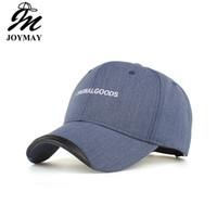 Joymay Beyzbol Şapkası YENI VARıŞ Bahar Moda Eğlence Şapka Nakış Orijinal Mal Pamuk Snapback Unisex Spor Topu B494 Caps