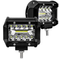 Auto-LED beleuchtet 4-Zoll-laufende Lampe 60W 6000K super heller Punkt-Strahl für Arbeits-Licht-Stange Boots-SUV ATV UTV LKW-4WD