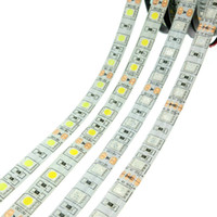 Flexible LED Strip Lighting SMD 5050 DC12V 60LEDs m 5m roll ...