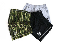 Mens fitness cotton shorts New Fashion Casual gyms Crossfit Bodybuilding Workout Joggers male short pants Brand Sweatpants