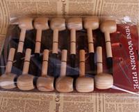 O novo filtro de fundo redondo de madeira vigorosamente marinheiro Mini tubo em linha homens martelo tipo de fumar set direto da fábrica