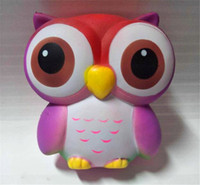 Hot Funny Animal Squishy Lovely Pink Owl Cream Scented Squee...