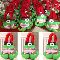 Sacchetto di caramelle di Natale per i bambini I sacchetti di regali di Babbo Natale elfi possono contenere una mela in amazzone desiderio vendite inebrianti