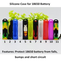 18650 Battery Cover Silicone Protective Cover Case Colorful ...