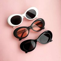 2018 New UV400 Vintage Unisex Clout Goggles Fashion Oval Che...
