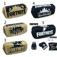 5 Style wallet Fortnite Pencil Bag Cartoon Pencil Cases Stat...