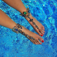 Best lady One Piece Long Summer Vacation Anklets Bracelet Sa...
