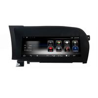 S Class W221 Komuta Sistemi Yükseltme Ekran Head Up Monitor için 8 Çekirdekli İşlemci 2 + 32G Araba Android 10,25 inç Ekran