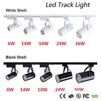 DHL CE RoHS UL LED Luz de la pista 6W 10W 14W 24W 36W 120 LED LED Foco de techo CA 85-265V LED LIGHTING LIGHTING