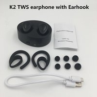 K2 TWS mini bluetooth headset Twins earphone ear buds wirele...