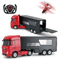 6 Photos Wholesale Open Door Remotes   RC Car Large Cm Cargo Truck Original  Remote Control Toys Radio