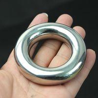 Il nuovo acciaio inossidabile anello del pene per lo conservate forte e duro, Restraint scroto Ciondolo testicolo anello del rubinetto, sesso gioca per gli uomini B2-70
