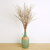 7 pezzi per lotto Bacche artificiali per la decorazione domestica Stamen Pip Bacca Steli Composizione di fiori Bouquet Decorazione di nozze lunga 74 cm
