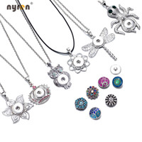 New Arrival 24pcs lot 6 styles pendant necklaces for women w...