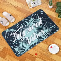 Anti-slip Kitchen Carpet Bedroom Doormat Bathroom Living Room Soft Rugs Non Slip Bath Mat Toilet Carpet Set Home Decoration Rectangle Pad