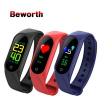 Smart Wristband M3 LED Color Screen Band Pedometer Blood Pre...