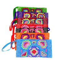 Embroidery Coin Wallet Women Chinese National Girls Wallets ...