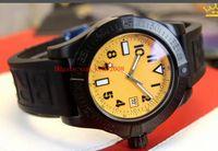 Lüks Klasik Serisi İzle A1733110 | I519 | 152S | A20SS.1 45mm Paslanmaz Çelik Kauçuk Bantları Kayış VK Kuvars Chronograph Çalışma Mens Saatler