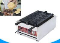 사쿠라 와플 기계 상업용 전기 꽃 모양의 와플 메이커 머핀 케이크 기계 사쿠라 야키 케이크 오븐 LLFA