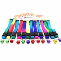 Fashion Colorful Pet dog cat Collar nylon cat dog Neck Colla...