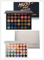 YENI Sıcak makyaj Marka Güzellik Sırlı 35 renkler Göz Farı Paleti Mat-Olmalıdır Paleti Pırıltılı Sen Üst Qaulity DHL nakliye