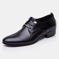 остроконечные пальцы формальная обувь для мужчин свадебная обувь для мужчин 2019 мужская офисная обувь черный коричневый бизнес повседневная большой размер sepatu pria ayakkab