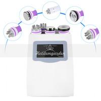 초음파 캐비테이션 기계 지방 흡입 슬리밍는 5MHz의 Rf 슬림 무선 주파수 5IN1 체중 감소 장치 살롱 사용