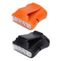 Neue Tragbare Multifunktionale Werkzeug 5 LED Clip Cap Licht Outdoor Camping Wandern Angeln Wasserdichte Kopf Licht Outdoor-Multi-Tools