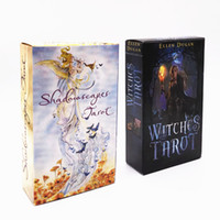 Witches Tarot, Tarot shadows Gioco da tavolo 78 Stks / set Mooie Kaarten Gioco Chinese / Engels Editie Tarot Board Game