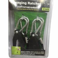 1/8 pulgadas de cuerda trinquete 2 piezas 1 paquete Reflector Grow Light Ligadores Light Lifters c675