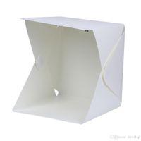 Portable Mini Folding Foto Studio Box Fotografie Hintergrund Softbox USB LED Licht Desktop Hintergrund
