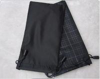أزياء المرأة الحقيبة حقيبة سوداء حقيبة النظارات النظارات الناعمة حالة النظارات الشمسية الساخنة للماء freeshipping 100pcs / lot 17.5 * 9cm