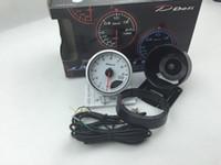 """2.5 """"60 MM DF Advance CR Branco Rosto Impulsionar turbo / VÁCUO / Água / Óleo temp / imprensa de Óleo / VoltS / Relação de Combustível Do ar / temperatura do gás de escape / tacômetro / COMPRIMENTO DE COMBUSTÍVEL"""