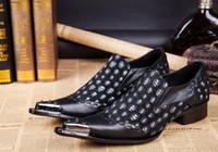 Frühling Prom Dress Handarbeit Spitz Sliver Metall Schädel neuen Stil Wildleder echtes Leder Loafers Männer Casual Schuhe Herren Wohnungen