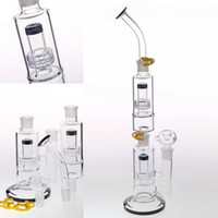 46cm Detachable Glass Bong Joint 18. 8mm Double Birdcage Perc...