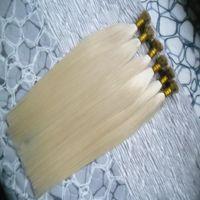 Fusion Saç Uzantıları 1 g / Tellerinin Remy Düz İpucu Ön Gümrük Keratin Saç Uzatma Keratin Kapsül Tırnak Düz Saç Üzerinde 300 s / paket